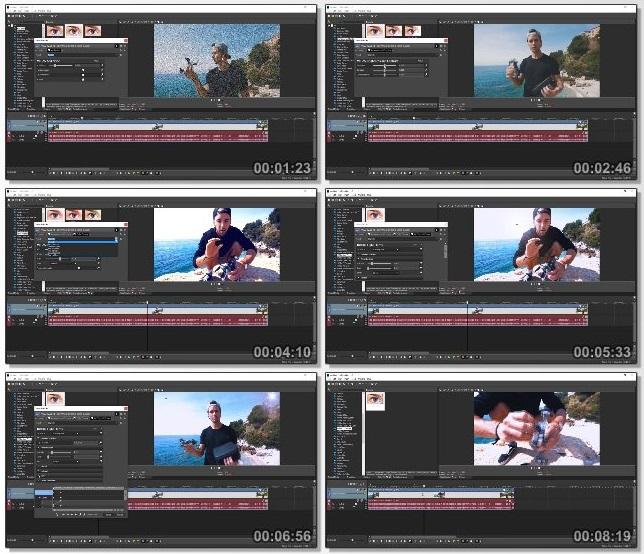 دانلود فیلم آموزشی Sony Vegas Pro 15: The Complete Video Editing Masterclass