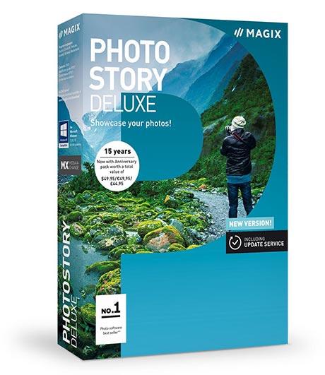 دانلود نرم افزار ساخت آلبوم تصویری MAGIX Photostory Deluxe 2018 v17.1.1.92