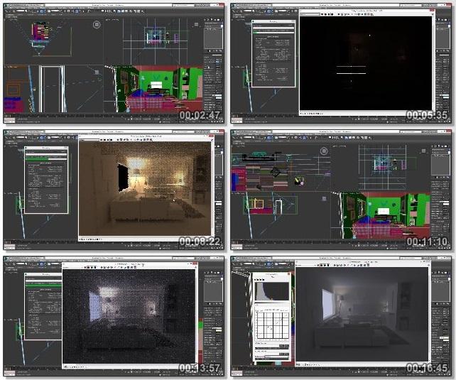دانلود دوره آموزشی Learn Architectural Visualization: 3ds Max, V-ray, Autocad