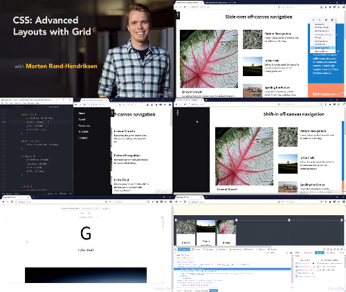 CSS Advanced Layouts with Grid center