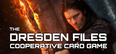 دانلود بازی چندنفره کارتی کامپیوتر Dresden Files Cooperative Card Game جدید