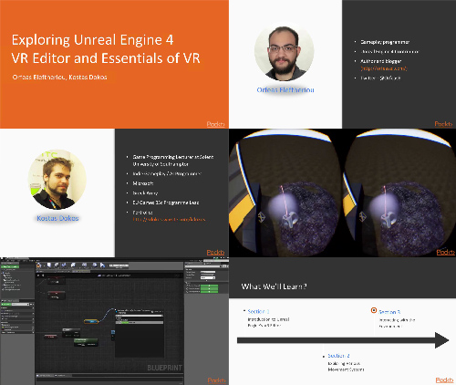 Exploring Unreal Engine 4 VR Editor and Essentials of VR center