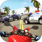 Highway Traffic Rider Logo