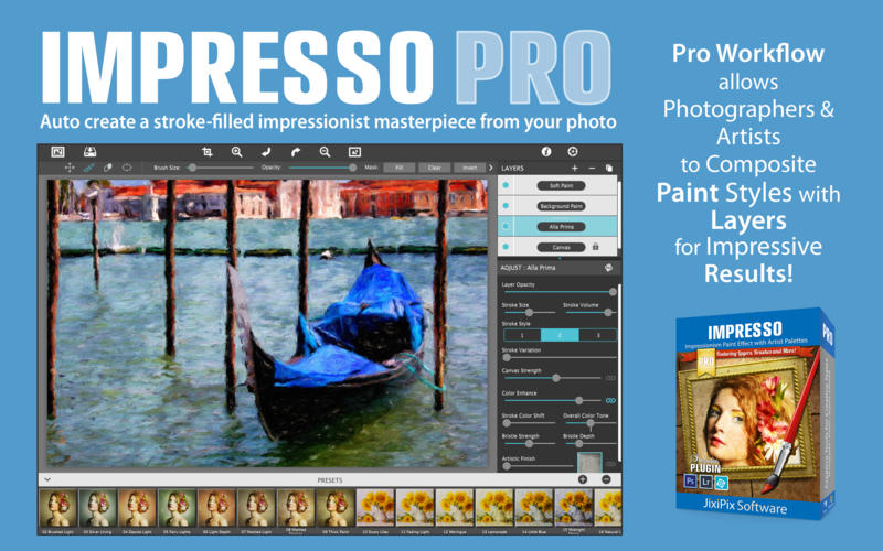JixiPix Impresso Pro center