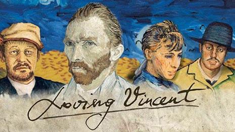 Loving Vincent 2017 Screen