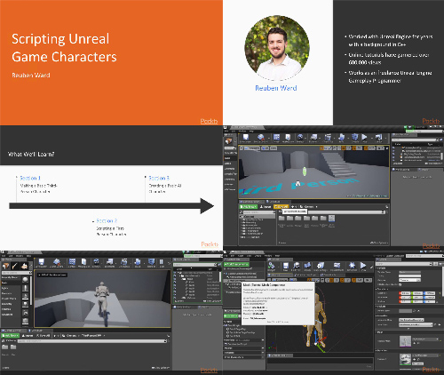 Scripting Unreal Game Characters center