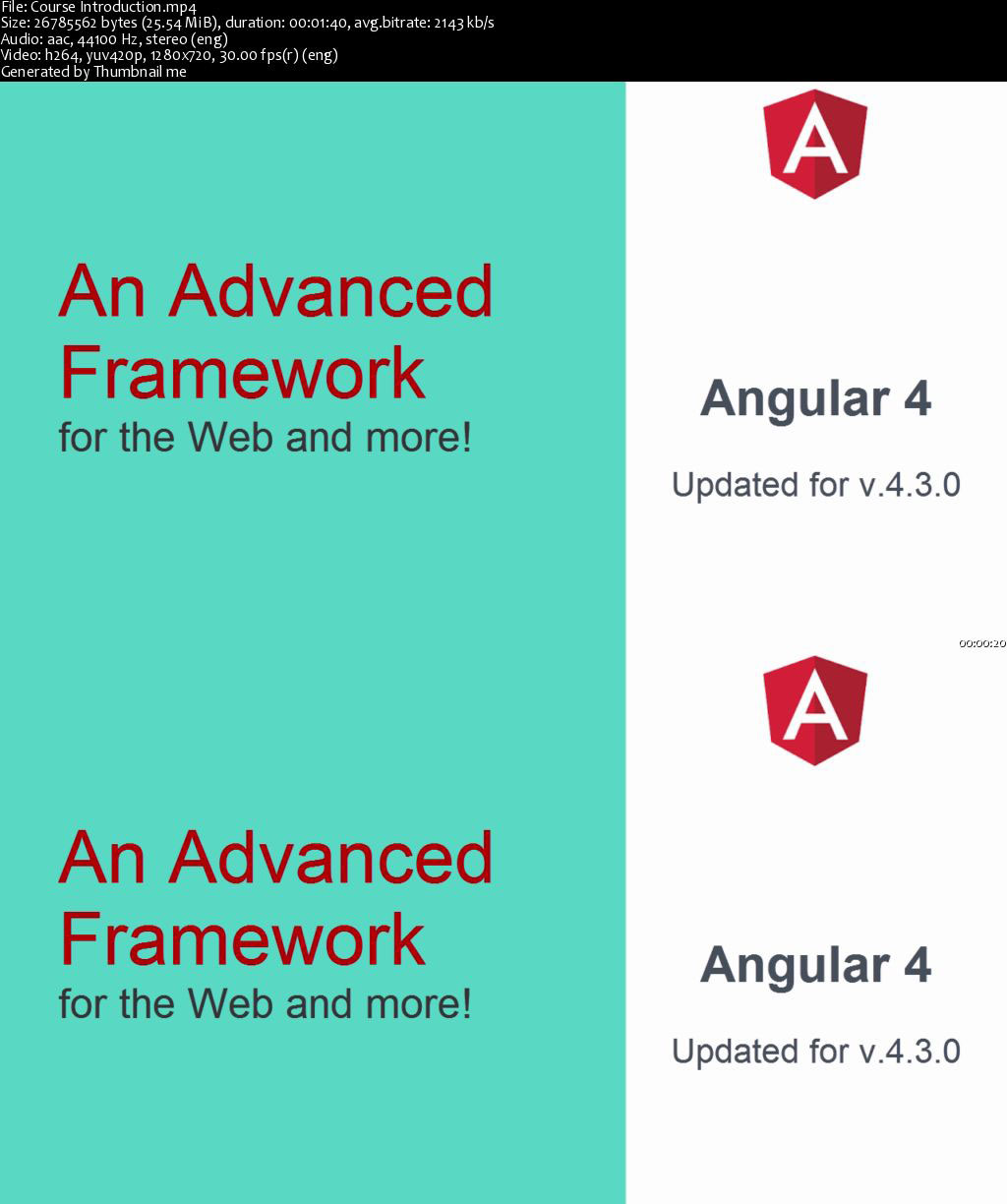 Starting with Angular cover