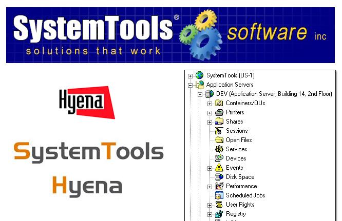 SystemTools Hyena center