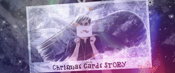 Videohive Christmas Cards Photo Opener center