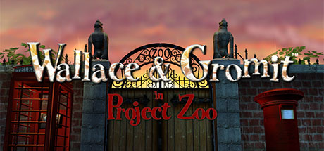 Wallace & Gromit in Project Zoo center