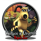 Wallace & Gromit in Project Zoo logo