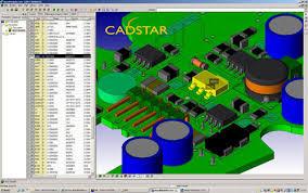 Zuken CADSTAR Design Editor center