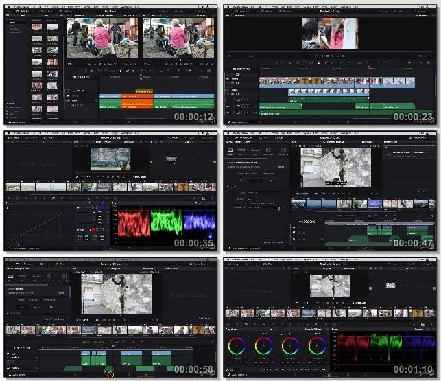 دانلود دوره آموزشی DaVinci Resolve: Editing Basics از Lynda