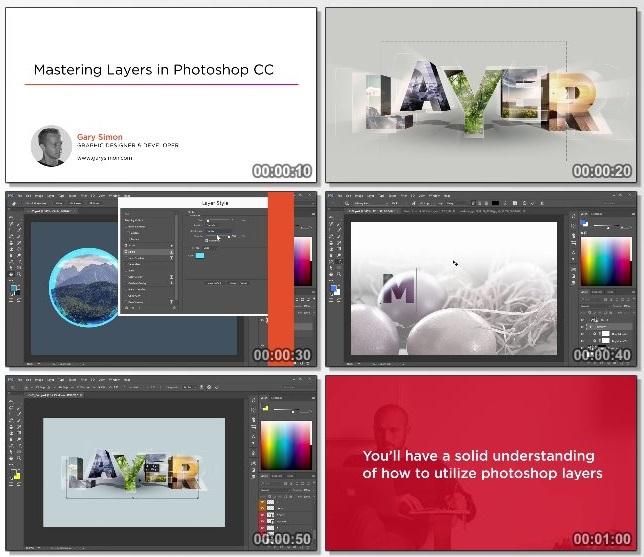 دانلود فیلم آموزشی Mastering Layers in Photoshop CC