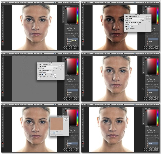 دانلود فیلم آموزشی StackSkills - Photoshop CC Portrait Retouching