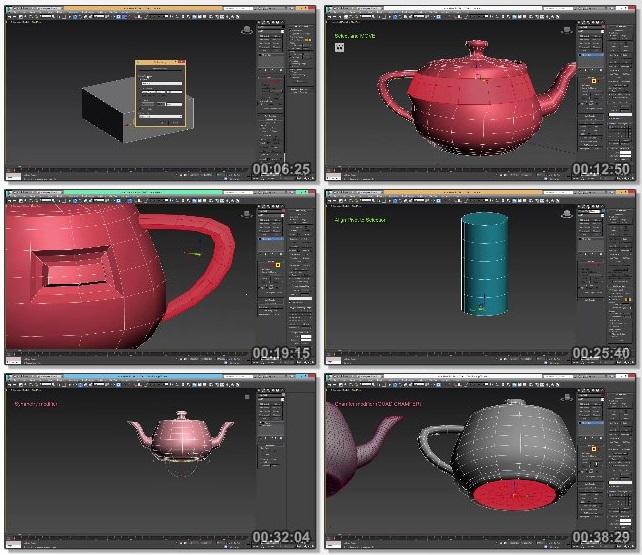 دانلود فیلم آموزشی Gumroad - 3Ds Max - Basics & Beyond
