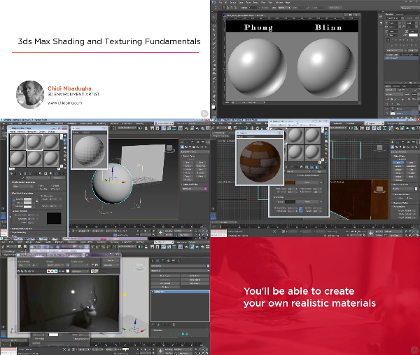 3ds Max Shading and Texturing Fundamentals center