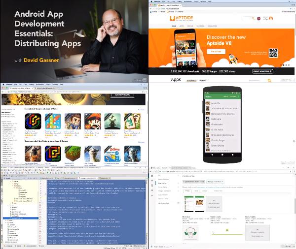 Android App Development Essentials: Distributing Apps center