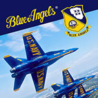 Blue Angels Aerobatic Sim Logo