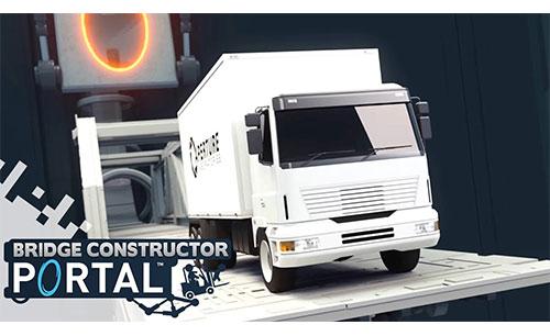 دانلود Bridge Constructor Portal جدید
