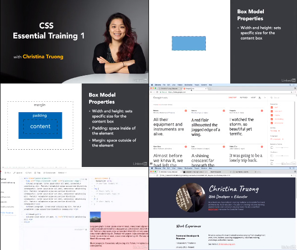 CSS Essential Training 1 center