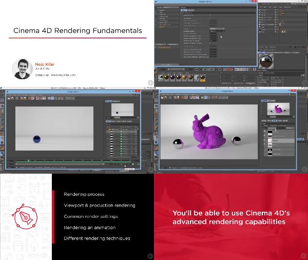 Cinema 4D Rendering Fundamentals center