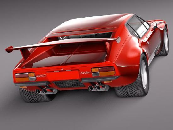 De Tomaso Pantera GTS 1971 - 1991 center