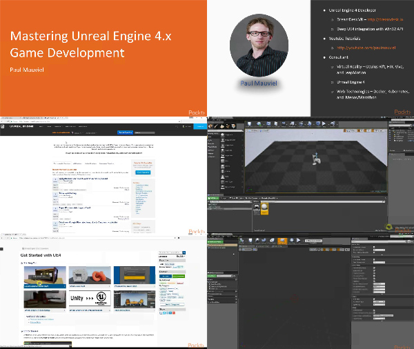 Mastering Unreal Engine 4.x Game Development center