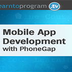 Mobile App Development with PhoneGap logo
