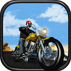 Motorcycle Driving 3D Logo