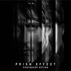 Prism Effect Photoshop Action logo