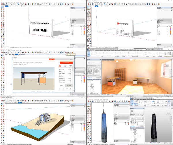 SketchUp and Revit Workflow center