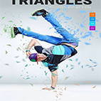 Triangles Photoshop Action logo