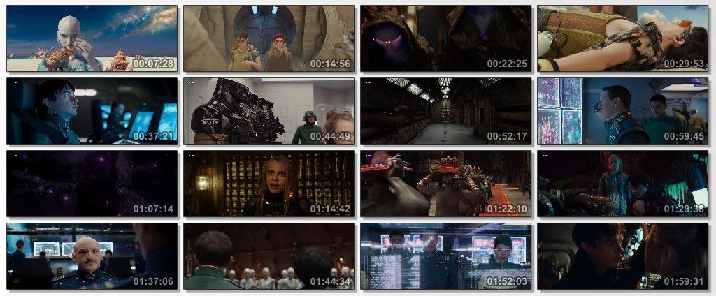 دانلود فیلم سینمایی Valerian and the City of a Thousand Planets 2017