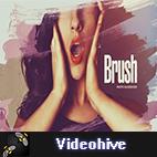 Videohive Beautiful Brush Photo Slideshow logo