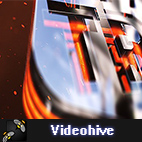 Videohive Glass Fluid Logo Reveal logo