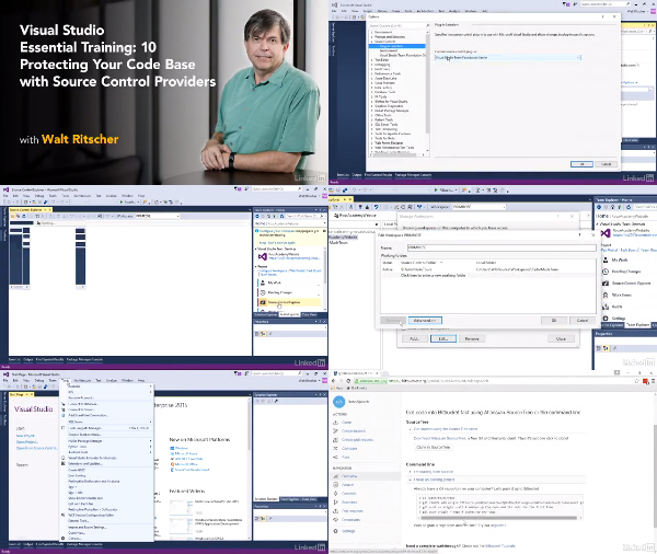 Visual Studio Essential Training: 10 Protecting Your Code Base center