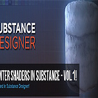 Winter Shaders in Substance logo