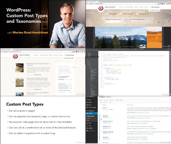 WordPress: Custom Post Types and Taxonomies center