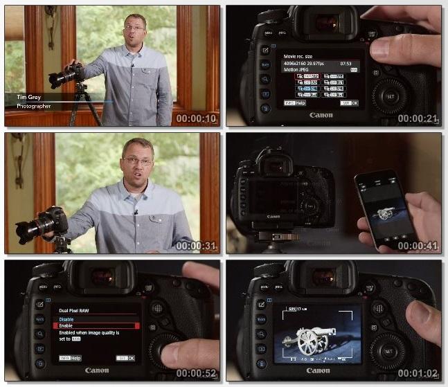 دانلود فیلم آموزشی Canon 5D Mark IV: Tips, Tricks, and Techniques از Lynda