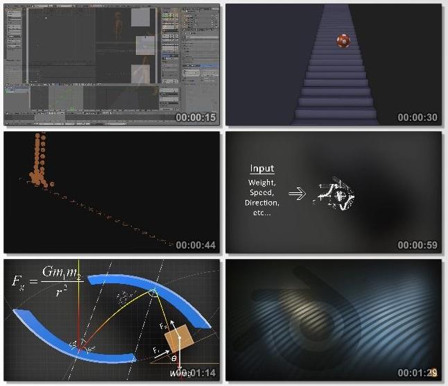 دانلود فیلم آموزشی Fundamentals of Dynamics از CGCookie