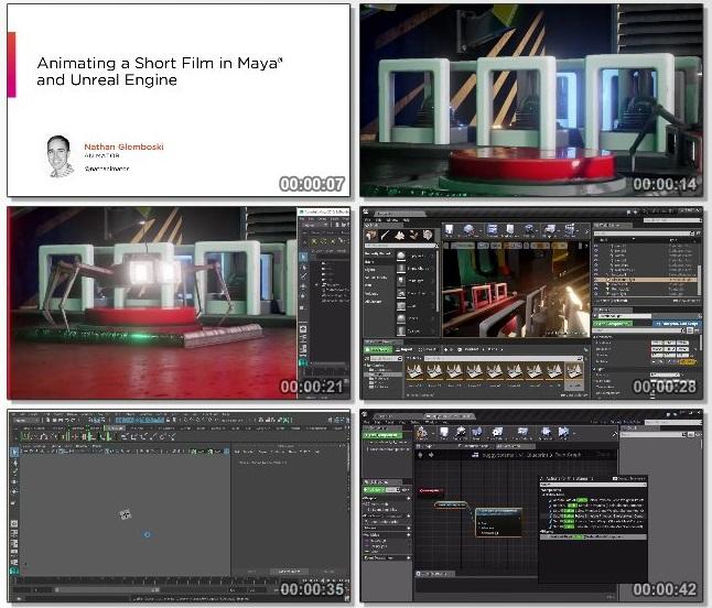 دانلود فیلم آموزشی Animating a Short Film in Maya and Unreal Engine