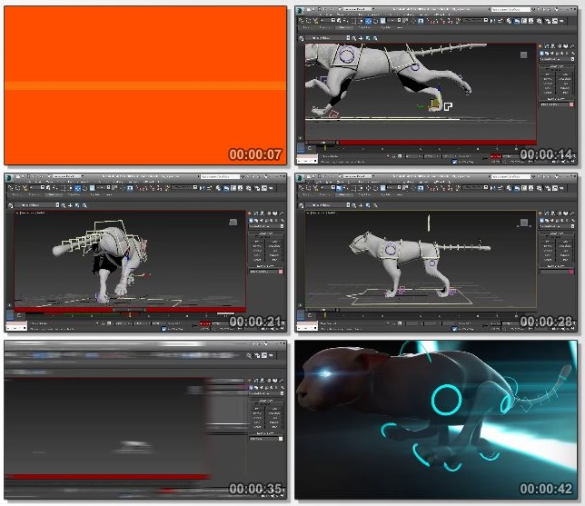 دانلود فیلم آموزشی Animating Quadrupeds in 3ds Max از pluralsight