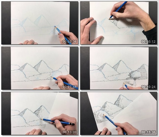 دانلود فیلم آموزشی The Ultimate Drawing Course - Beginner to Advanced