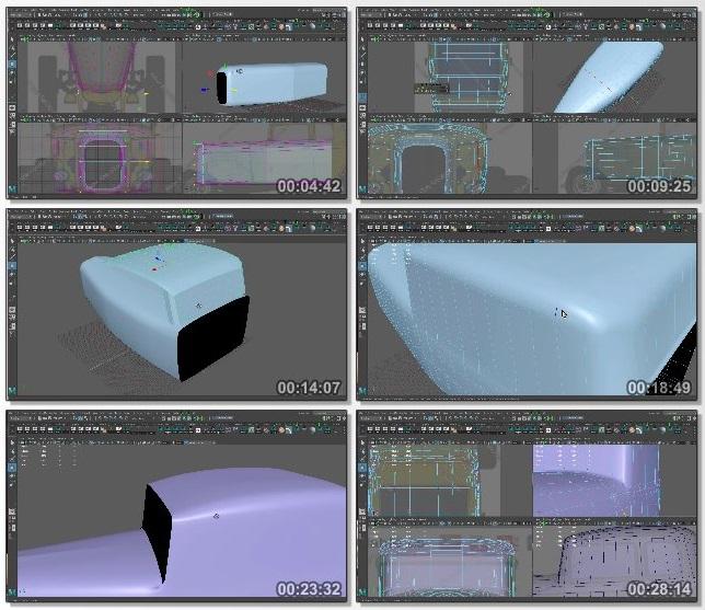 دانلود فیلم آموزشی Vehicle Modeling for Production از The Gnomon Workshop