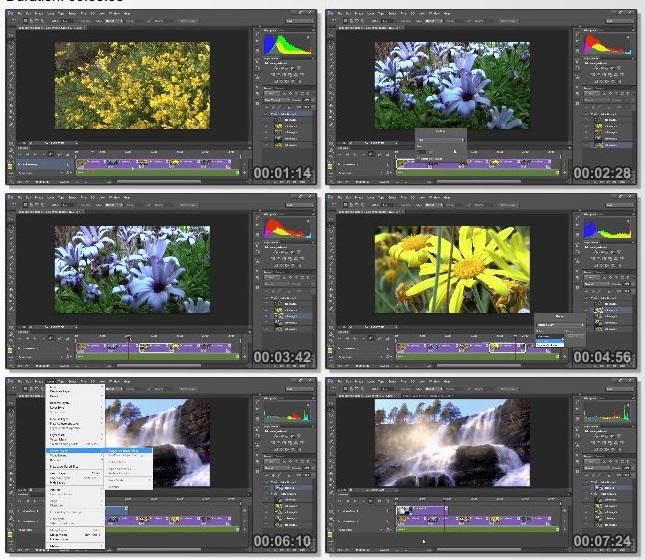 دانلود فیلم آموزشی Photoshop Tutorial - Video & Animation Masterclass