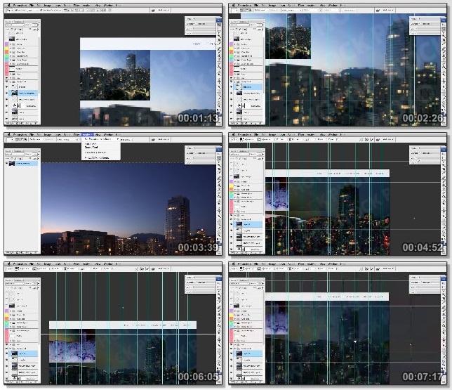 دانلود فیلم آموزشی Applying Matte Painting Techniques to Image Editing for the Web in Photoshop