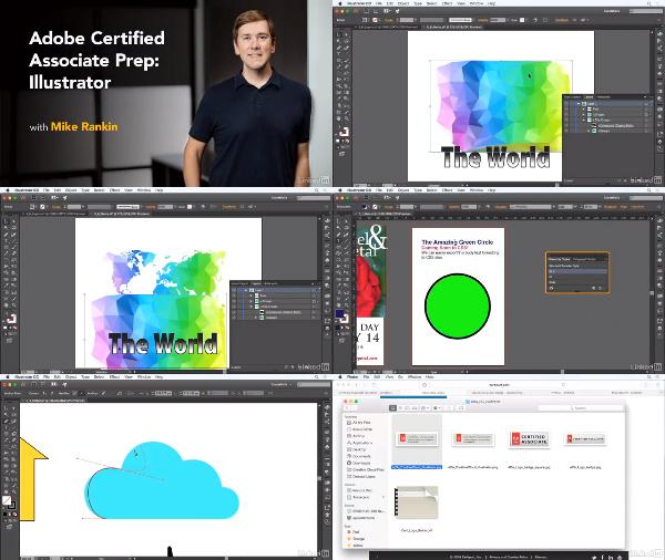 Cert Prep: Adobe Certified Associate Illustrator center
