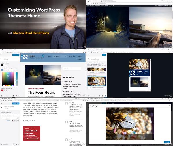 Customizing WordPress Themes: Hume center
