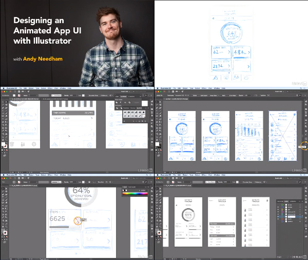 Designing an Animated App UI with Illustrator center